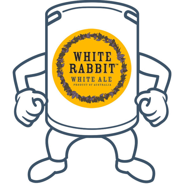 White Rabbit White Ale <br>50lt Keg