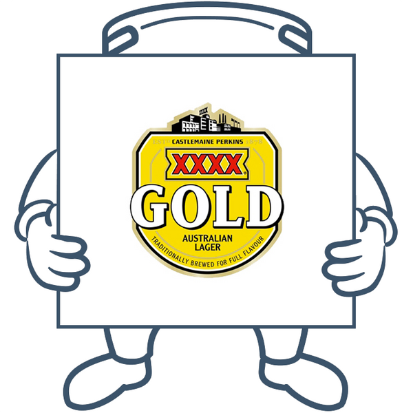 XXXX Gold <br>Keg + Dispensing System Pack