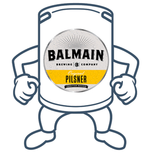 Balmain Brewing Original Pilsner <br>50lt Keg