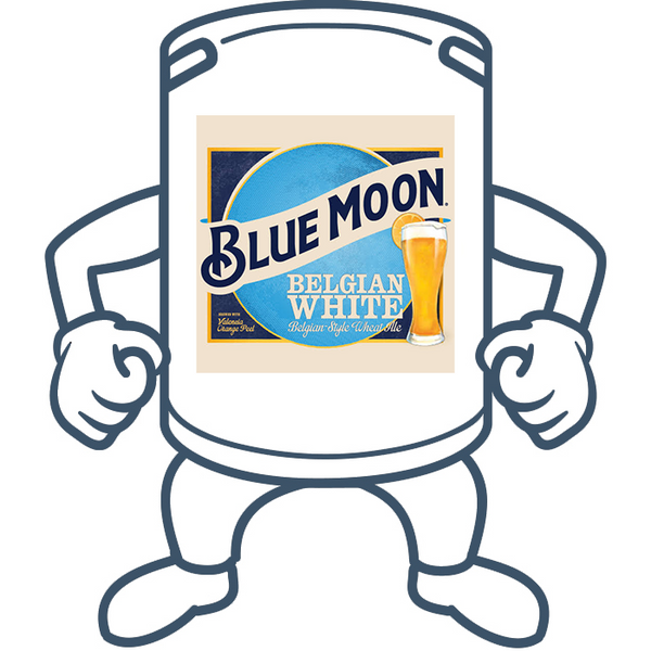 Blue Moon Belgian White Ale <br>50lt Keg