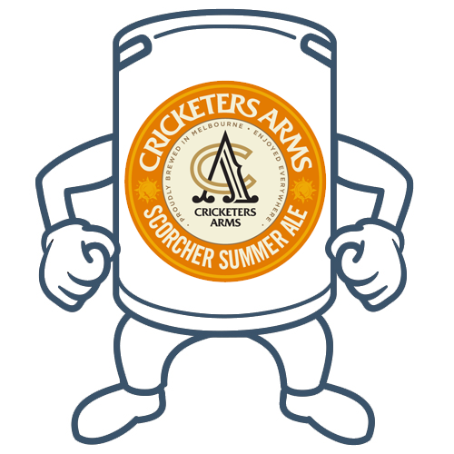 Cricketers Arms Scorcher Summer Ale <br> 50lt Keg