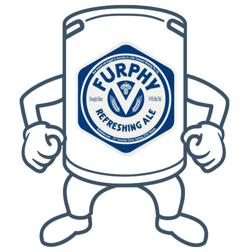 Furphy Refreshing Ale <br> 20lt Keg <br>Available Same Day in Melbourne