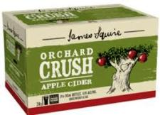 James Squire Orchard Crush Apple Cider<br>Case of 24