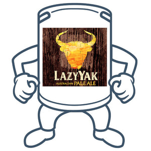 Lazy Yak Session Ale<br>50lt Keg