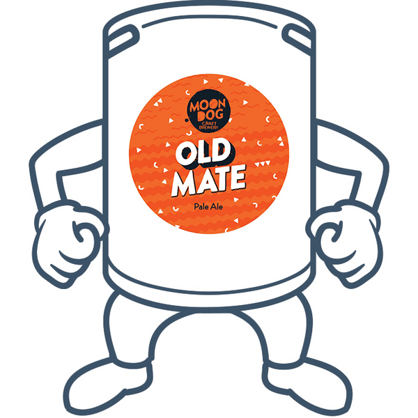 Moon Dog Old Mate Pale Ale <br>50lt Keg