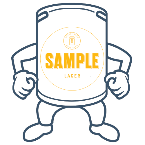 Sample Lager<br>50lt Keg