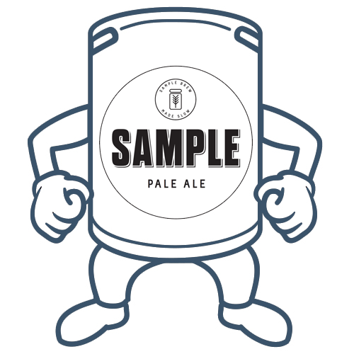 Sample Pale Ale<br>50lt Keg