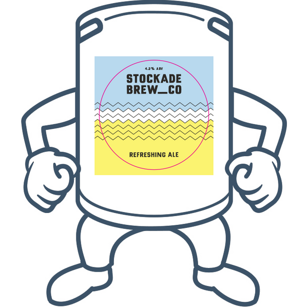 Stockade Refreshing Ale<br>50lt Keg