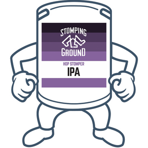 Stomping Ground Hop Stomper IPA <br>50lt Keg