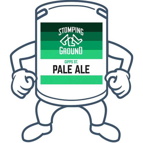 Stomping Ground Gipps St. Pale Ale <br>50lt Keg