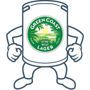 Stone & Wood Green Coast Lager<br>50lt Keg