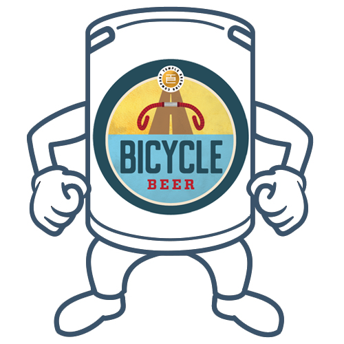 Temple Bicycle Beer <br>50lt Keg