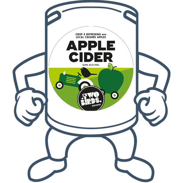 Two Birds Apple Cider<br>50lt Keg