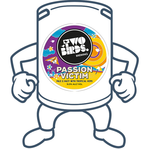 Two Birds Passion Victim<br>50lt Keg