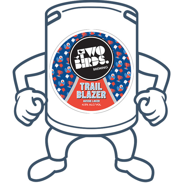 Two Birds Trail Blazer<br>50lt Keg