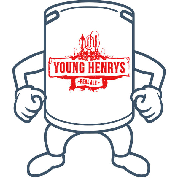 Young Henrys Real Ale <br>50lt Keg