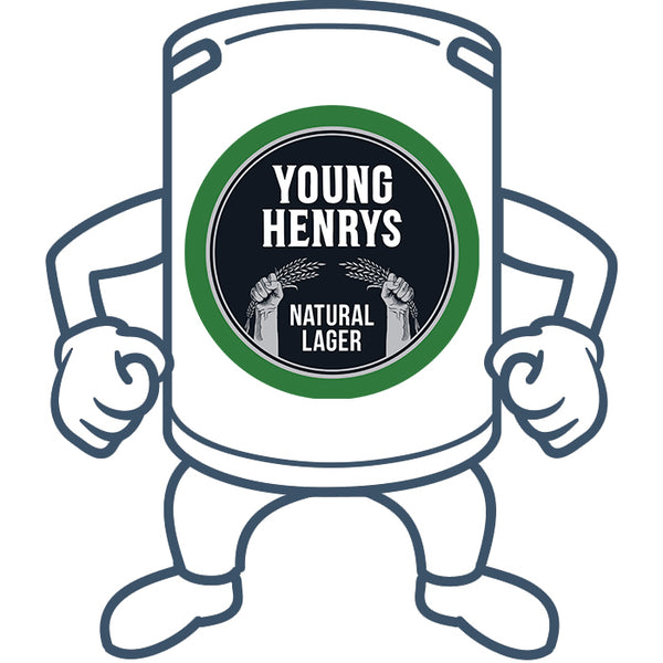Young Henrys Natural Lager <br>50lt Keg