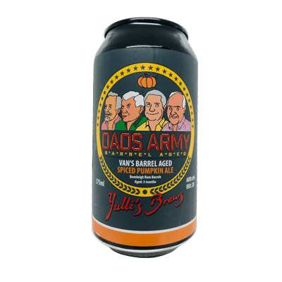 Yulli's Brews Dad's Army Van's Spiced Pumpkin Ale <br>Case of 16