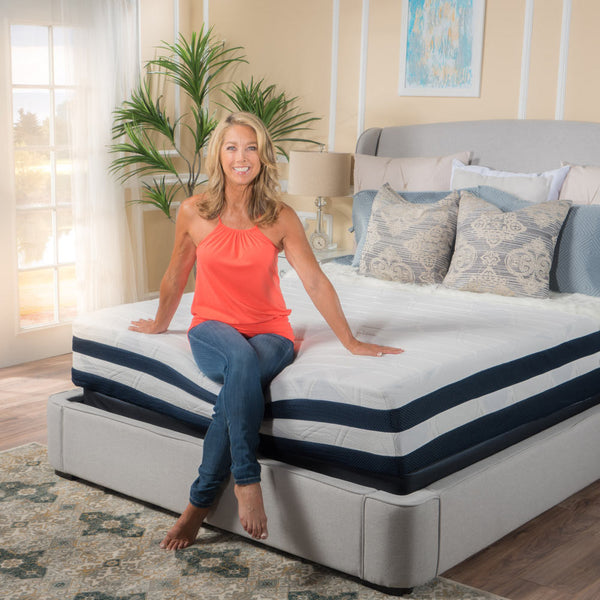 Denise Austin Home 12 Quot King Memory Foam Mattress