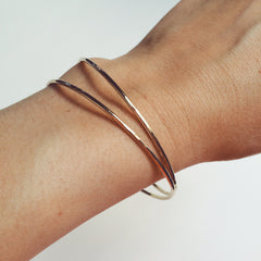 Gold Thread Bangle