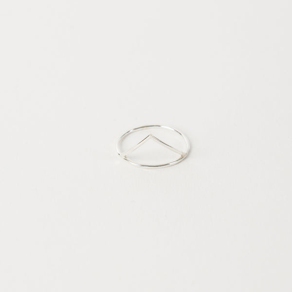 Triangle Ring / Silver