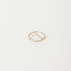 Triangle Ring / Gold