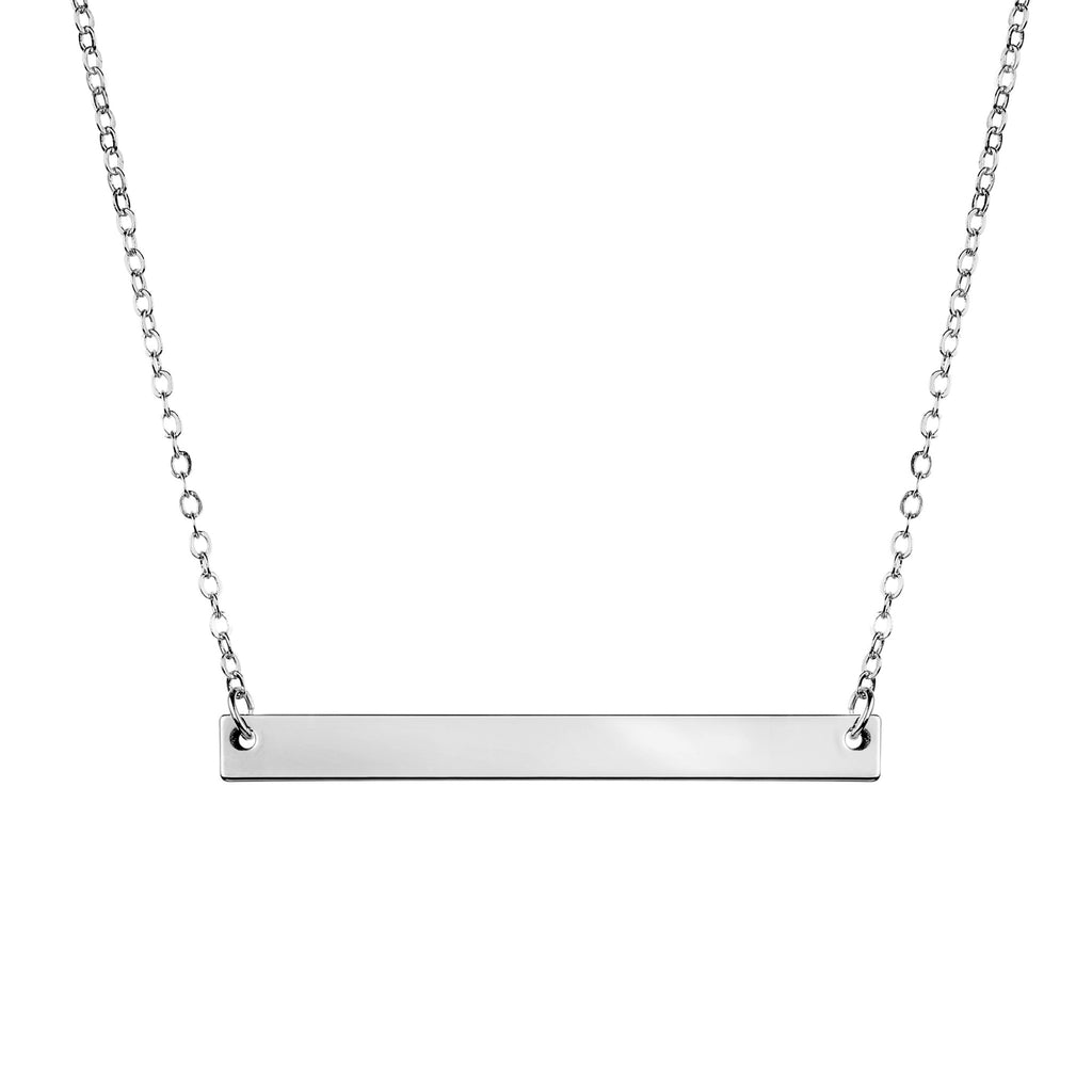 Celine Personalized Bar Necklace