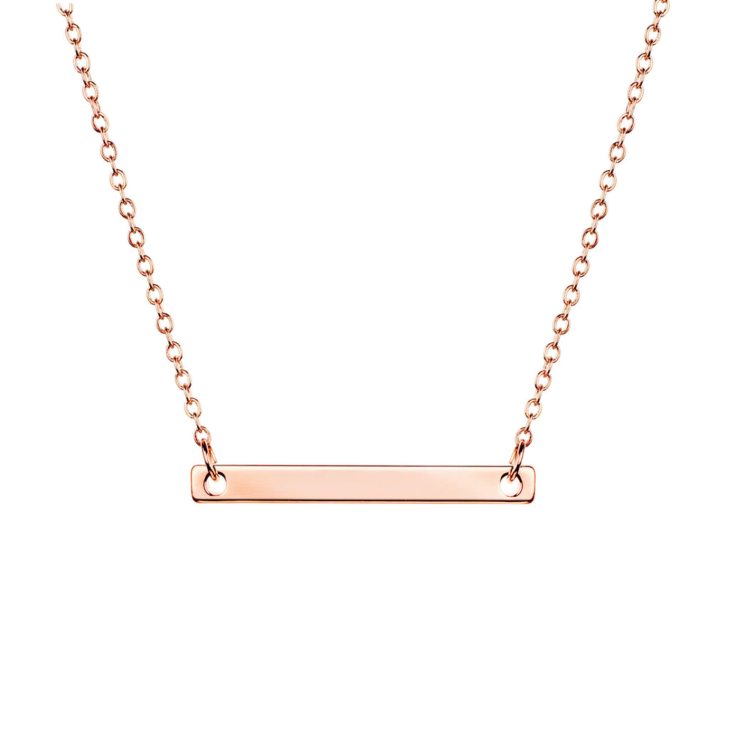 Desi Personalized Bar Necklace