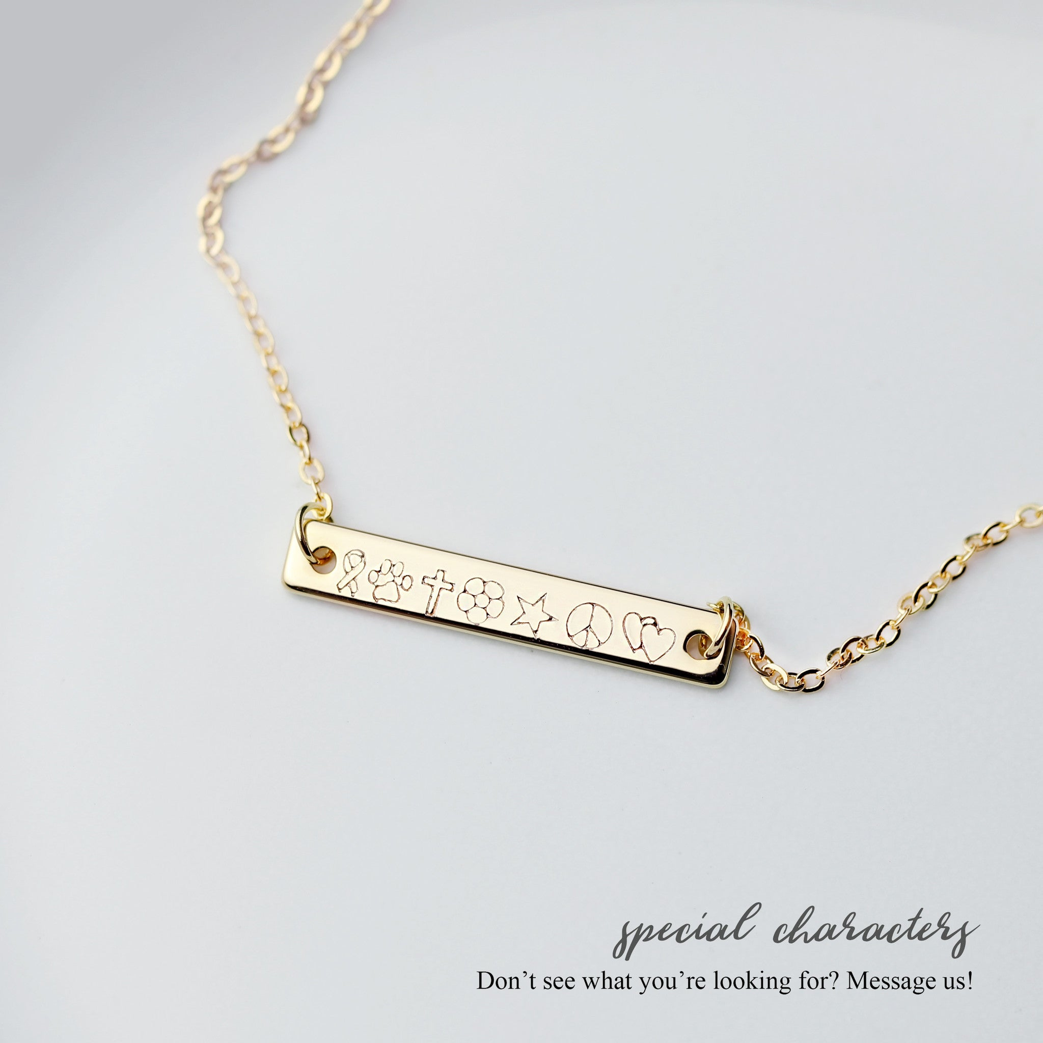 and product with bar circle necklace vermeil milgrain gold cz pendant