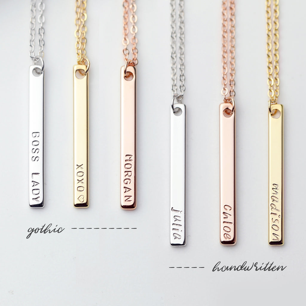Brinley Personalized Layered Necklace