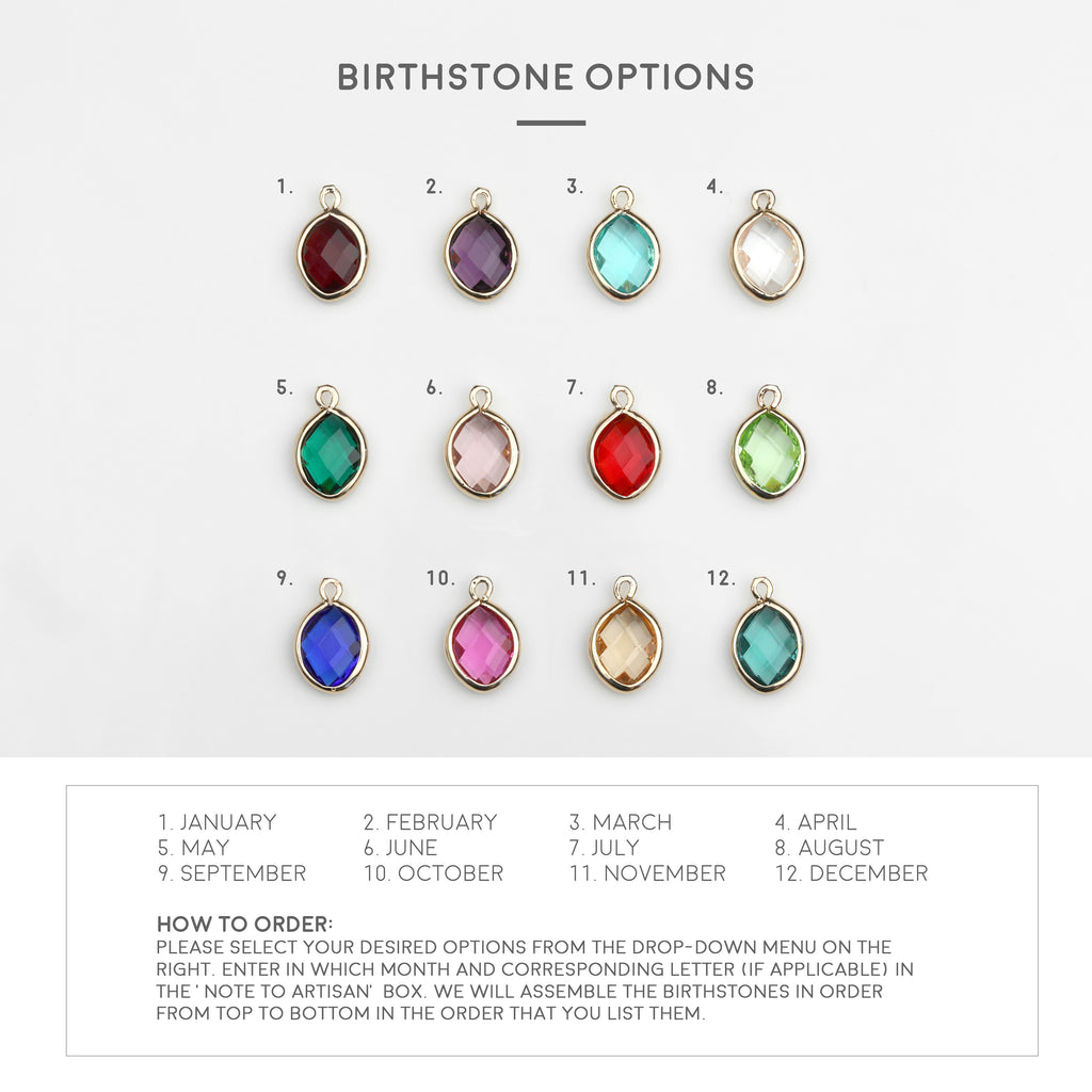 Mayah Birthstone Necklace