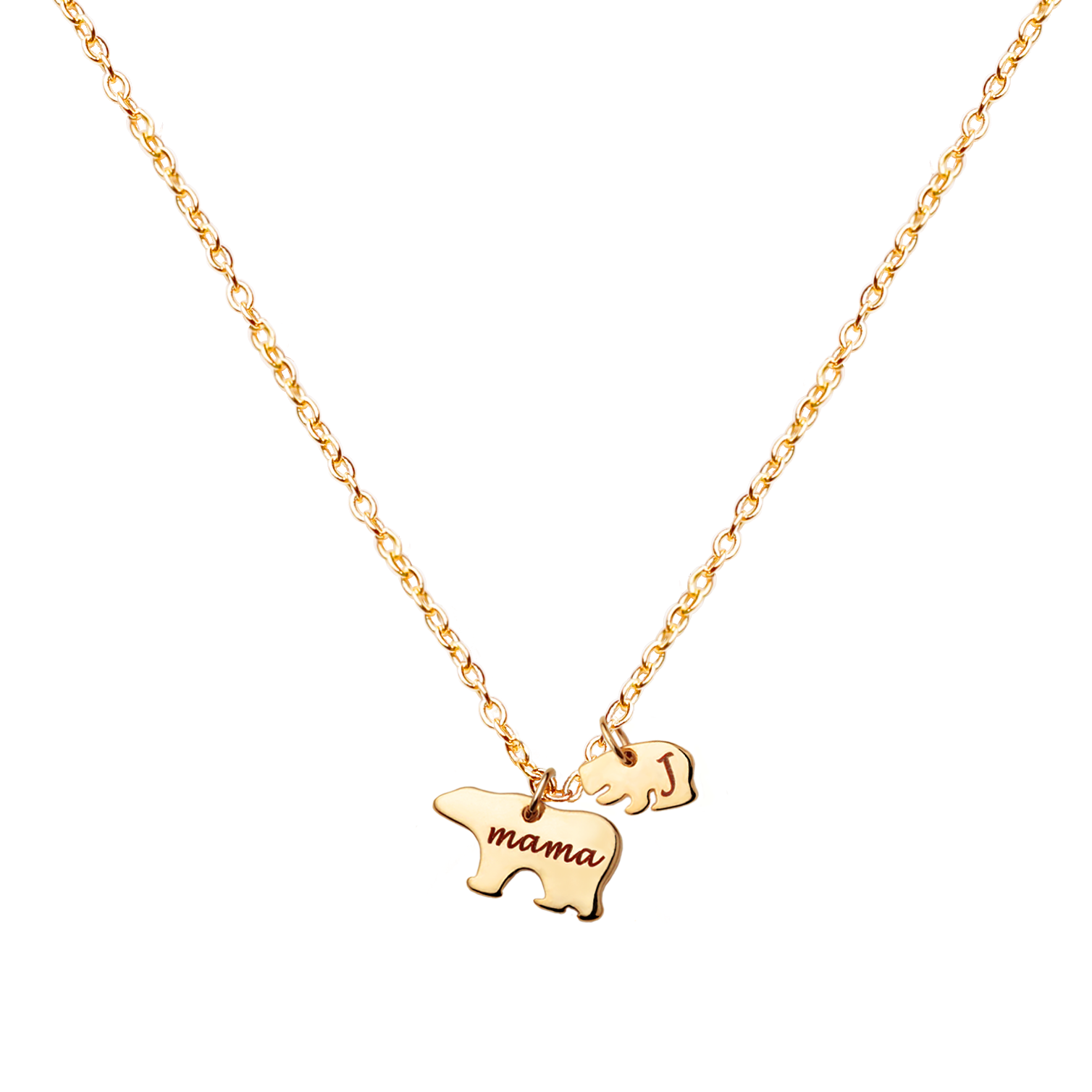 kitty necklace image the sleek gold products mama rose