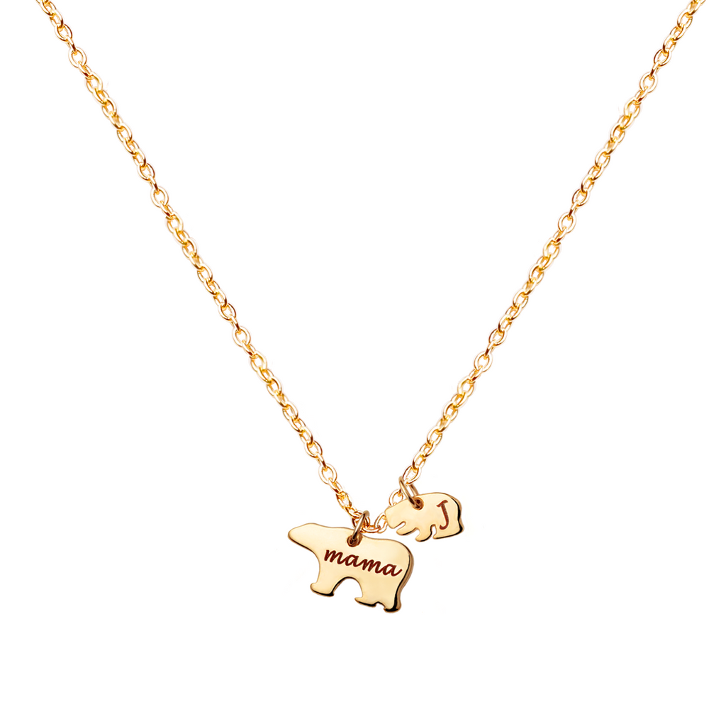 Naomi Mama Bear Necklace