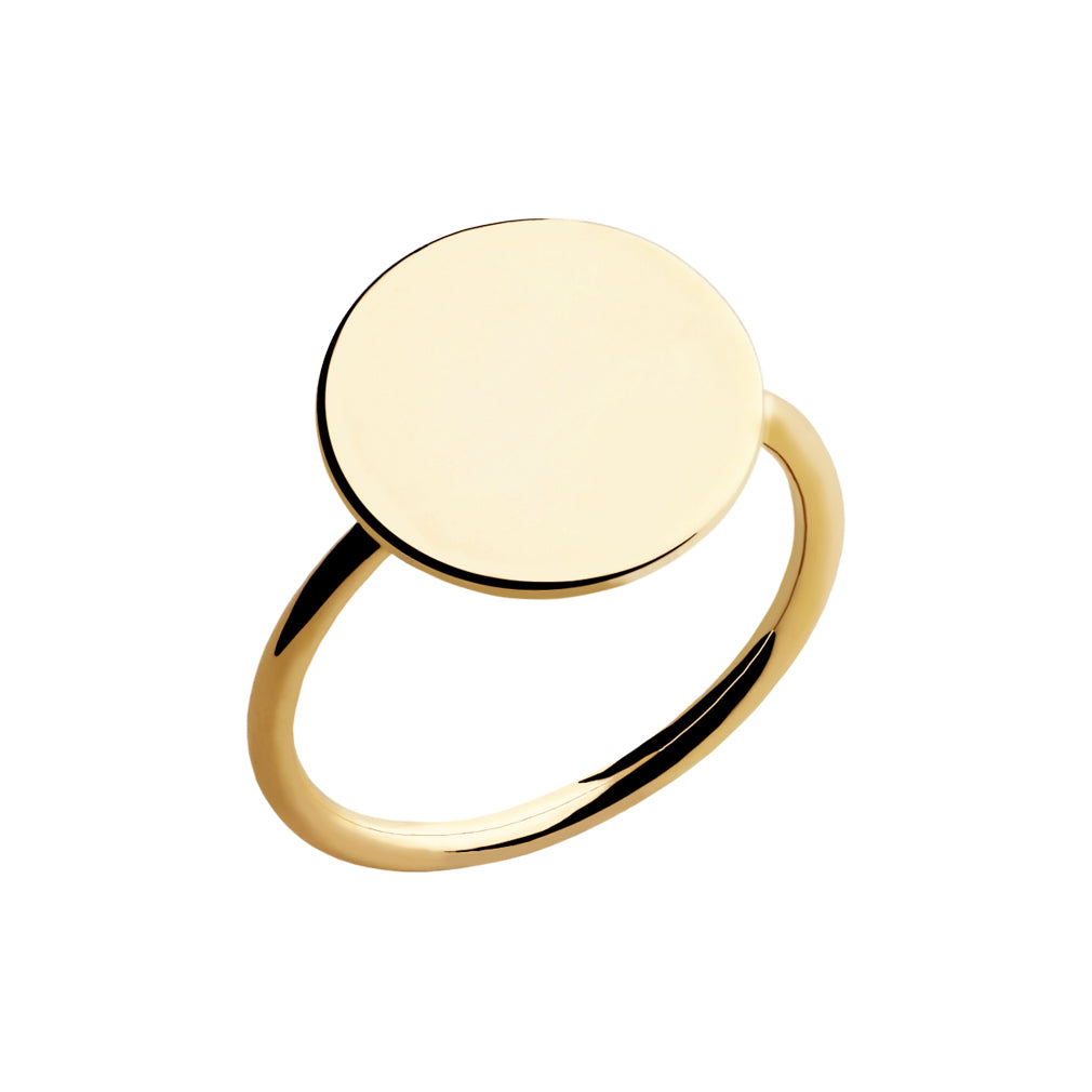 Regina Personalized Coin Ring