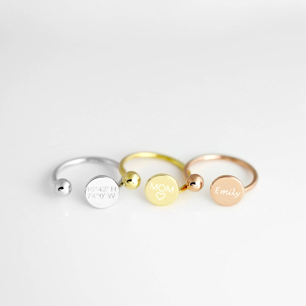 Irene Personalized Ring