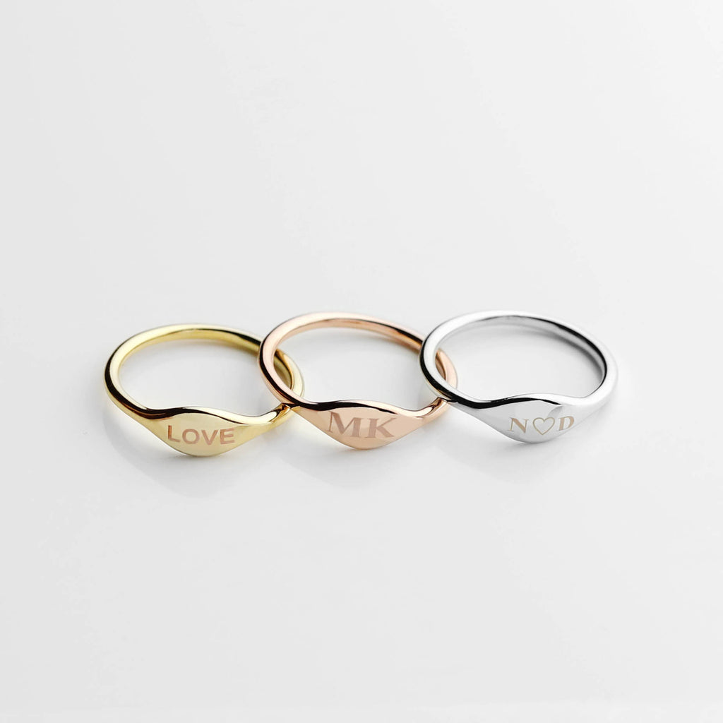 Renee Personalized Ring