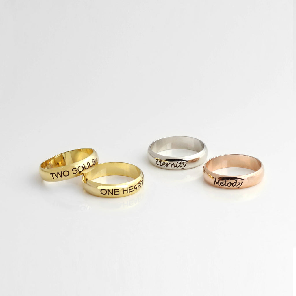 Mila Personalized Ring