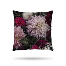 Load image into Gallery viewer, Floral-Print-Velvet-Cushion