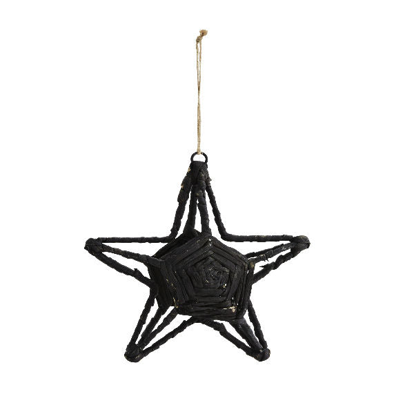 Star Decoration - Hand-crafted - Medium - 18cm