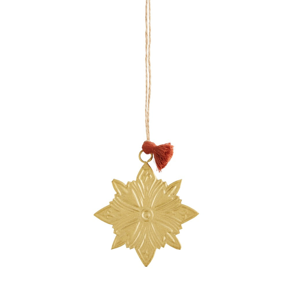 Hanging Star Ornament - Metal
