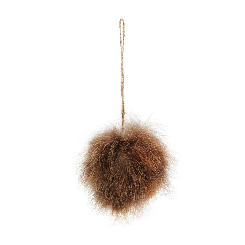 Feather Hanging Decoration - Brown