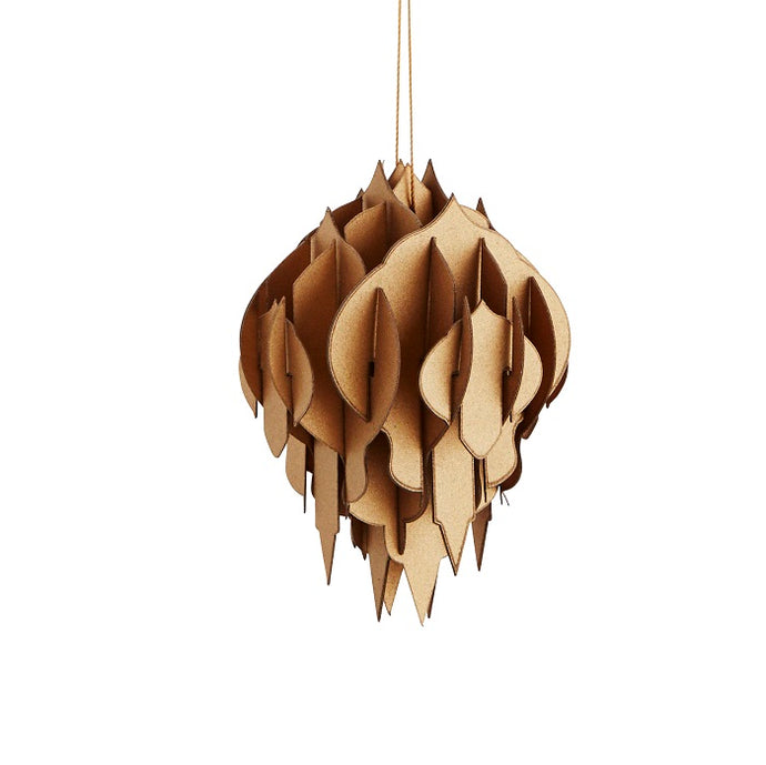 Paper Hanging Decoration - Gold