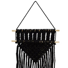 Load image into Gallery viewer, Macrame Wall Hanging with long fringe