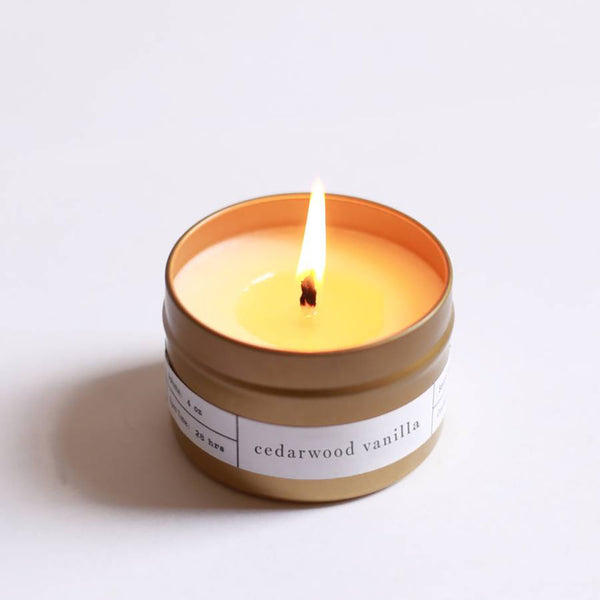 Cedarwood Vanilla Candle