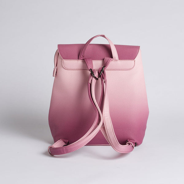 Valerie Ombre Dried Rose Backpack