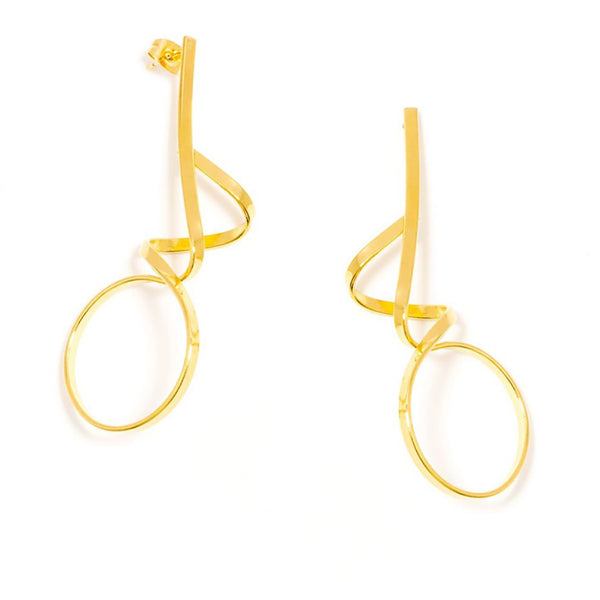 Twisted Loop Earring