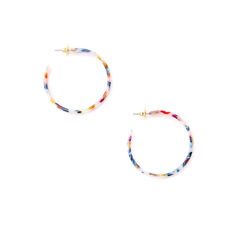 Fab Berry Hoop Earring