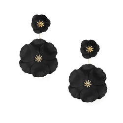 Flower Power Drop Earring