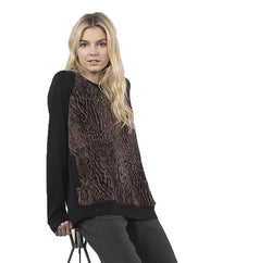 Capote Faux Fur Sweater Shirt