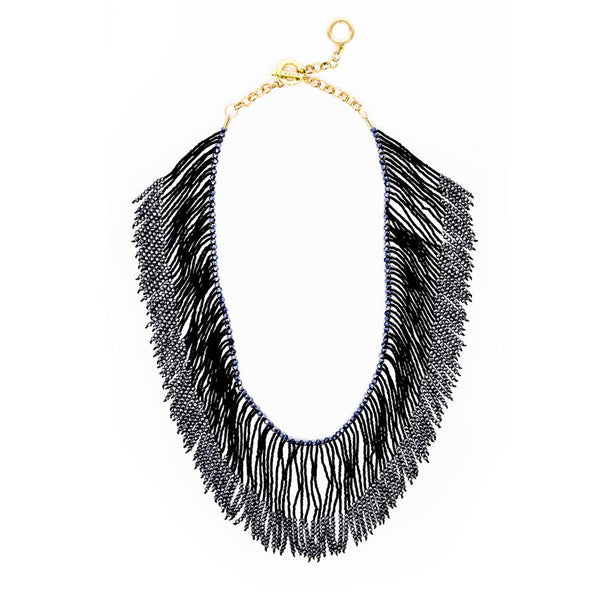 Glam Fringe Necklace